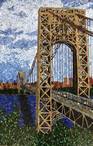Sun Kissed Bridge - Monique Sarfity Mosaics