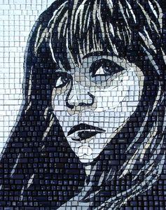 Keys of Gray - Monique Sarfity Mosaics