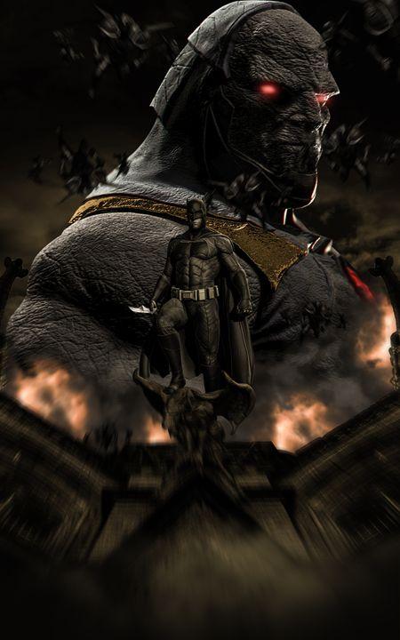 Darkseid-Batman - Dreggar