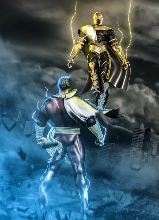 SHAZAM VS BLACK ADAM - Dreggar