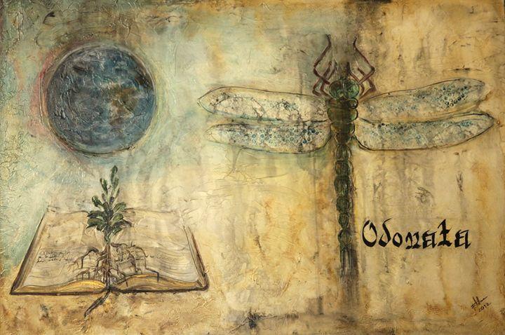 odonata (dragon fly) - Atelier Hoffmann