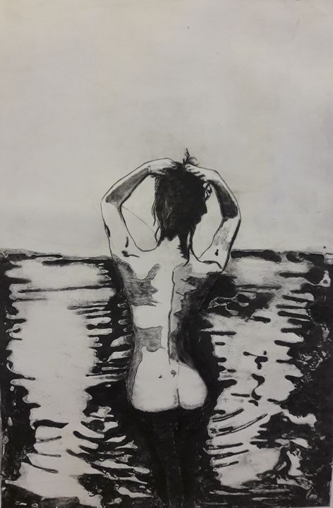 Bathing nude - Atelier Hoffmann