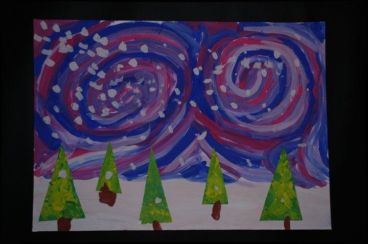 starry sky - Child arts