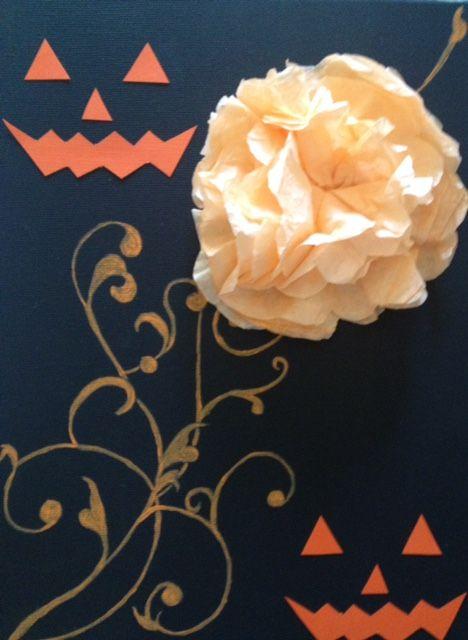 Jack O' Lantern - Wallflower Designs