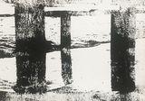 Linoprint on canvas