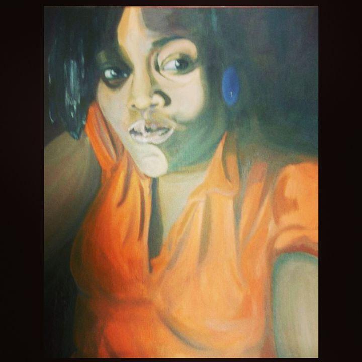 Self Portrait - Amber Orr