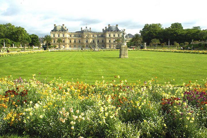 Luxemborg Gardens Paris - Mike Barton Photography
