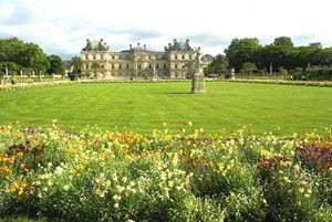 Luxemborg Gardens Paris