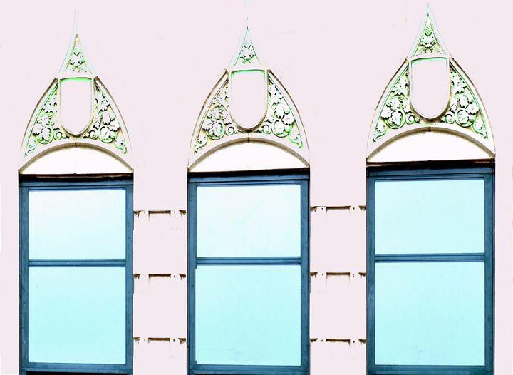 Chicago windows - Mike Barton Photography