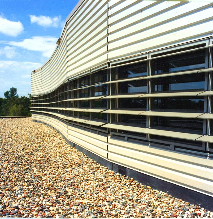 Rooftop Louvers - Mike Barton Photography