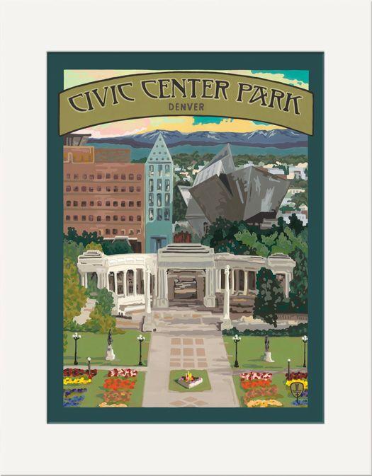 Civic Center Park - The Bungalow Craft by Julie Leidel