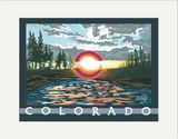 Matted Print: Colorado