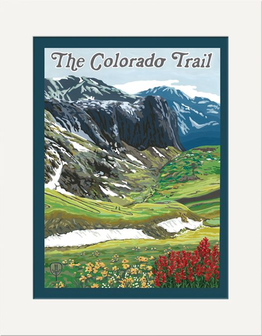 The Colorado Trail - The Bungalow Craft by Julie Leidel