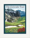 Matted Print: Colorado Trail