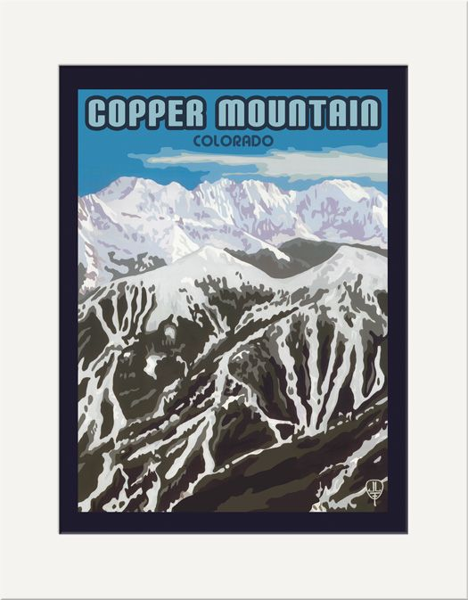 Copper Mountain - The Bungalow Craft by Julie Leidel