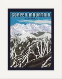 Matted Print: Copper Mountain