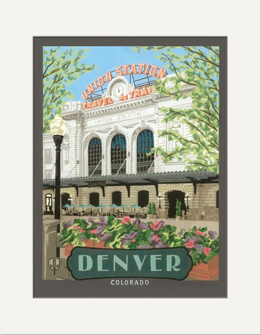 Denver Union Station - The Bungalow Craft by Julie Leidel
