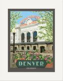 Matted Print: Denver Union Station