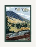 Matted Print: Vail Valley