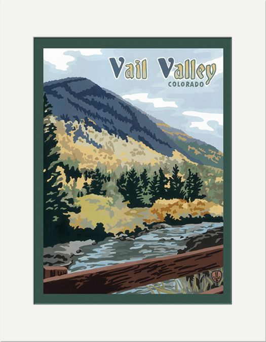 Vail Valley - The Bungalow Craft by Julie Leidel