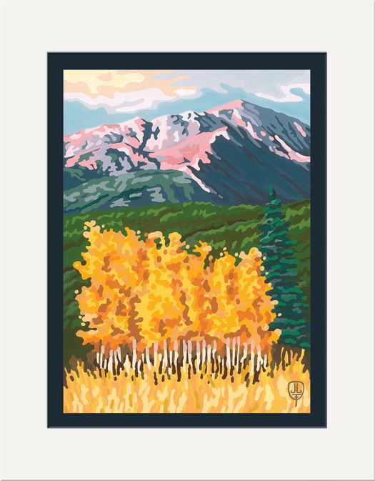 Pikes Peak Autumn - The Bungalow Craft by Julie Leidel