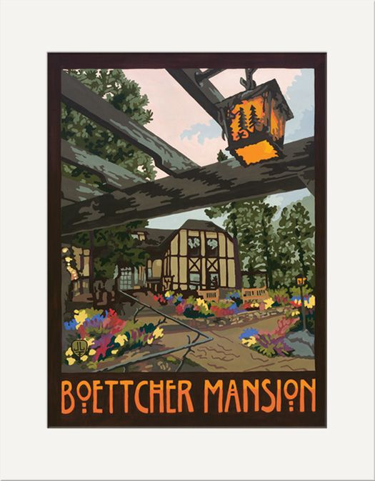 Boettcher Mansion - The Bungalow Craft by Julie Leidel