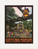 Matted Print: Boettcher Mansion