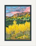 Matted Print: Ridgway