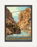Matted Print: Royal Gorge