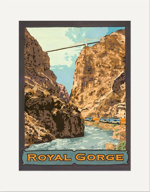 Royal Gorge - The Bungalow Craft by Julie Leidel