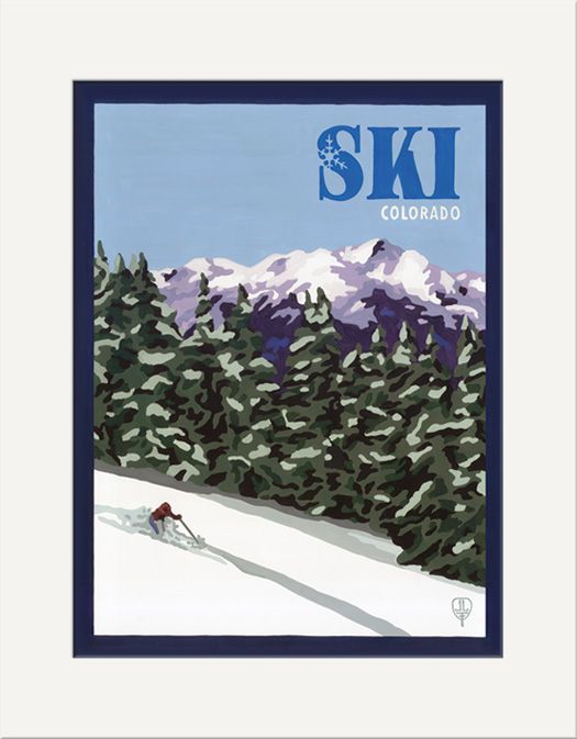 Ski Colorado - The Bungalow Craft by Julie Leidel