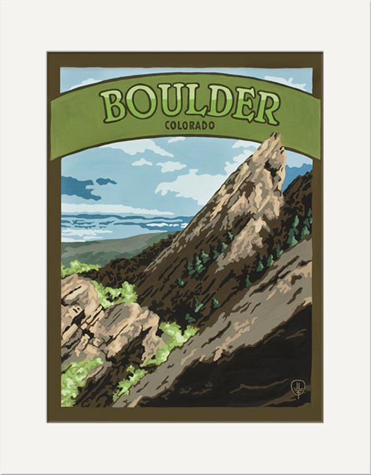 Boulder - The Bungalow Craft by Julie Leidel