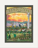 Matted Print: Stapleton