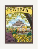Matted Print: Parker