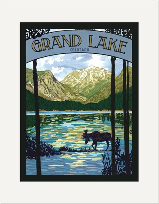 Grand Lake - The Bungalow Craft by Julie Leidel