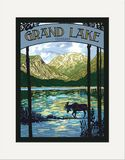Matted Print: Grand Lake