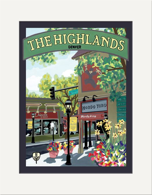 The Highlands - The Bungalow Craft by Julie Leidel
