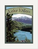 Matted Print: Lake Dillon