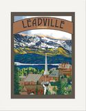 Matted Print: Leadville