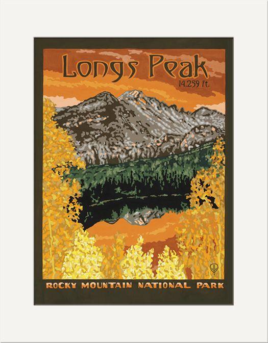 Longs Peak - The Bungalow Craft by Julie Leidel