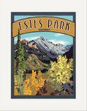Matted Print: Estes Park