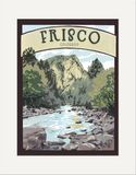 Matted Print: Frisco