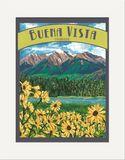 Matted Print: Buena Vista
