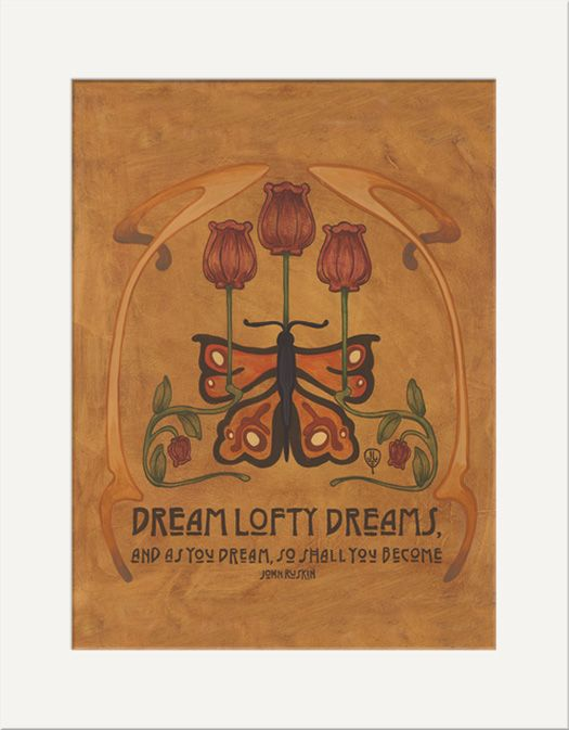 Dream Lofty Dreams - The Bungalow Craft by Julie Leidel