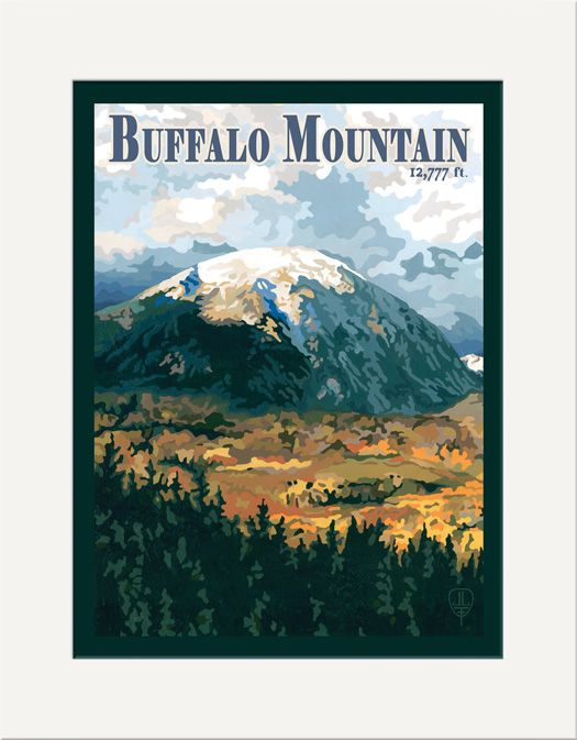 Buffalo Mountain - The Bungalow Craft by Julie Leidel