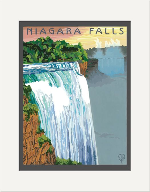 Niagara Falls - The Bungalow Craft by Julie Leidel