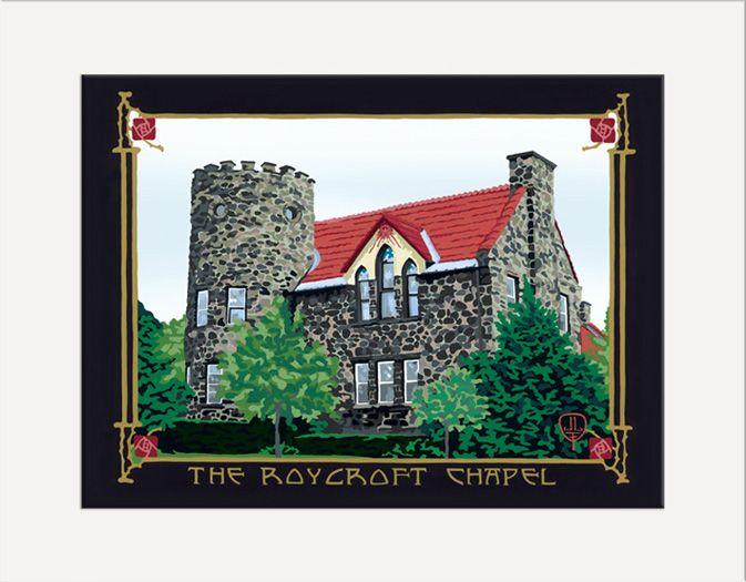 Roycroft Chapel - The Bungalow Craft by Julie Leidel