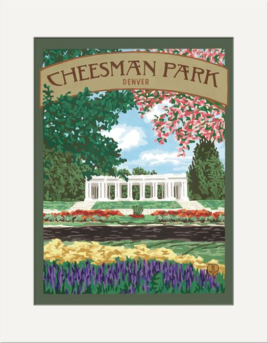 Cheesman Park - The Bungalow Craft by Julie Leidel