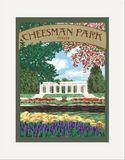 Matted Print: Cheesman Park