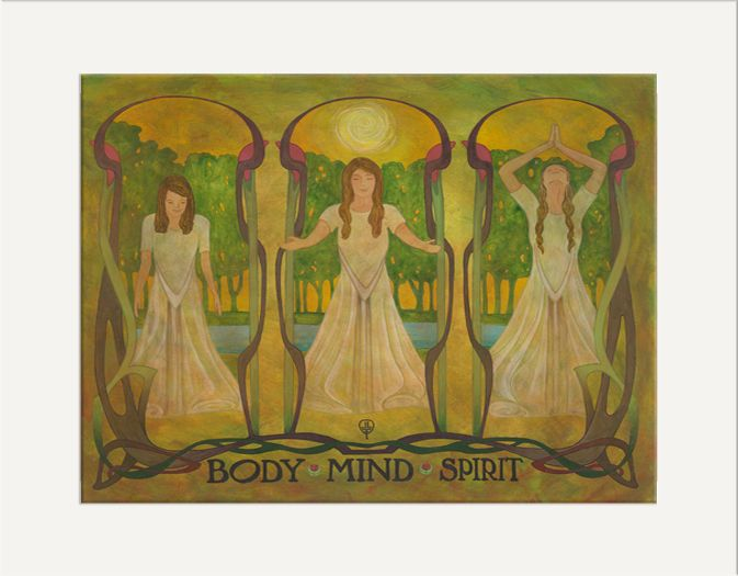 Mind Body Spirit - The Bungalow Craft by Julie Leidel